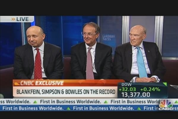 Blankfein, Simpson & Bowles on the Record