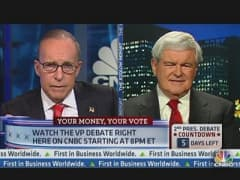 Gingrich: Obama Facing Huge Problems