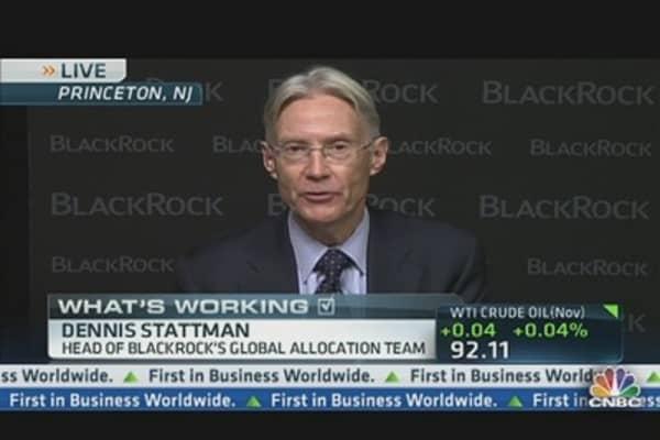 'I Feel Okay About Stock Market': BlackRock's Stattman