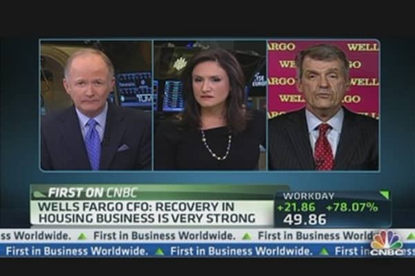 Wells Fargo CFO Talks Economy, Housing