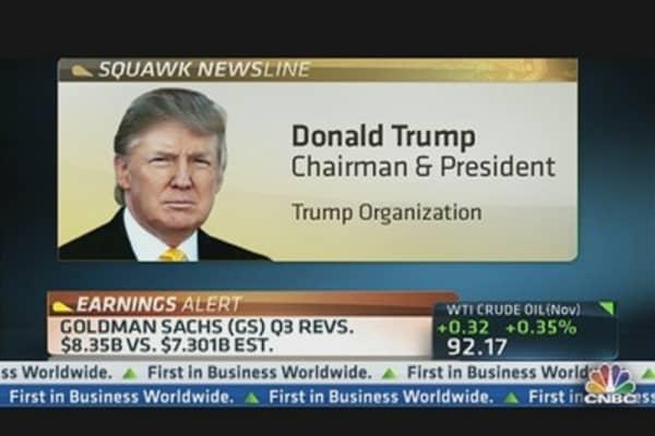 Trump: More Pressure on Obama Than Romney