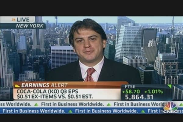 Coca-Cola's Q3 Earnings Mixed