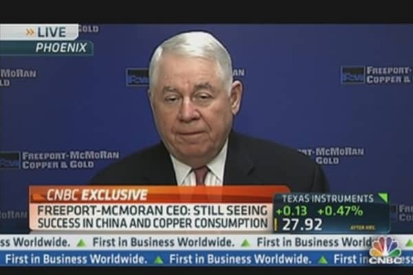 FCX CEO: Expect Strong Recovery in Near-Term
