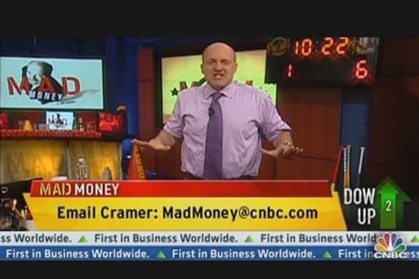 Cramer: What's Happening This Quarter