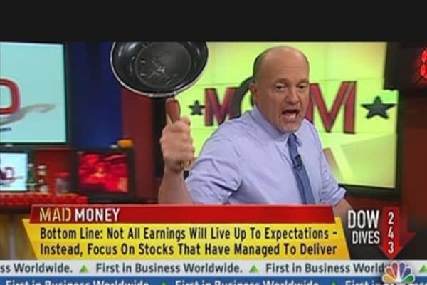 Still Ways to Profit From Weak Earnings: Cramer