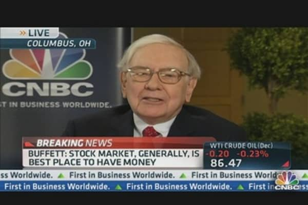 Buffet: Instincts Go Against QE3