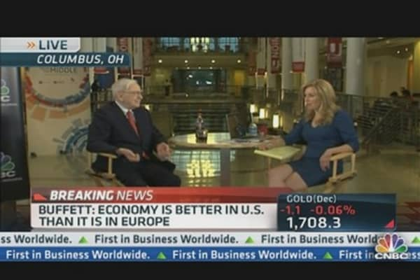 Buffett: 'We Buy on an All Equity Basis'