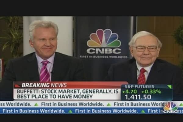 GE's Immelt: 'General Trend is Still Positive With Volatility'