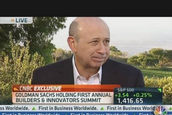 Goldman's Blankfein on Building Innovation