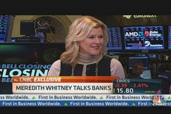 Meredith Whitney Talks Banks