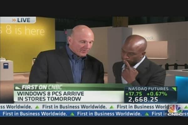Microsoft's New Look:  Windows 8