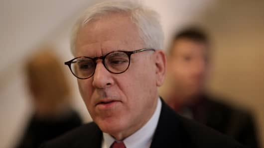 David Rubenstein, co-chief executive officer of Carlyle LP.