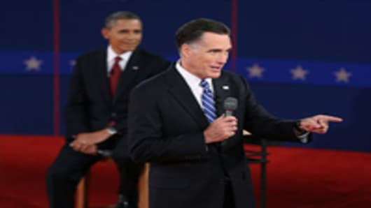 Romney's 'Binders Full of Women' Comment Goes Viral