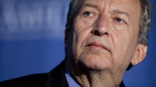 Former U.S. National Economic Council Chairman Larry Summers