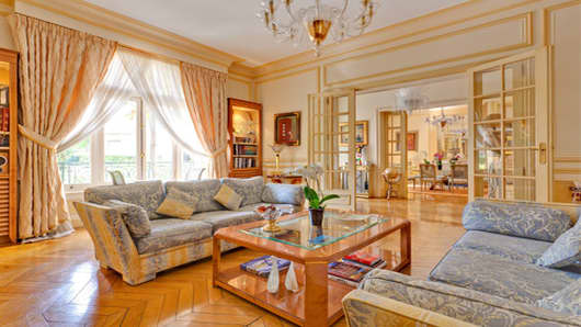 This townhouse in Villa Montmorency, one of Paris's best neighborhoods, is on the market for about $18 million.