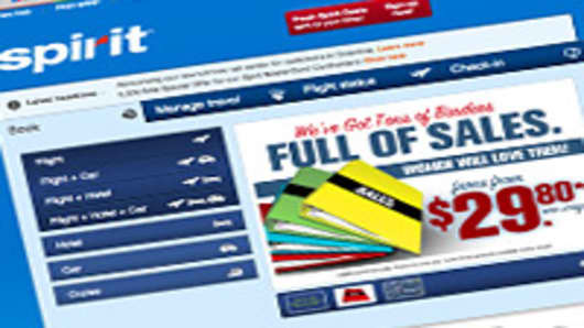Spirit Airlines Offers 'Binders' of Airfare Sales