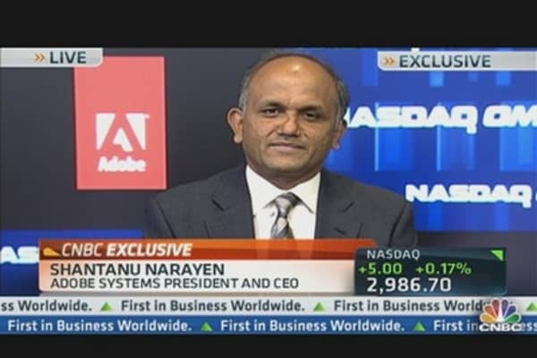 Adobe CEO on New Digital Campaign