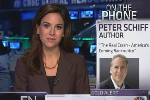 Peter Schiff: Gold to $5,000 in Two Years