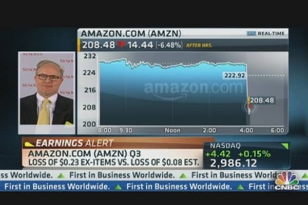 Amazon Q3 Revs: $13,81 Billion vs. $13.92 Billion Est.