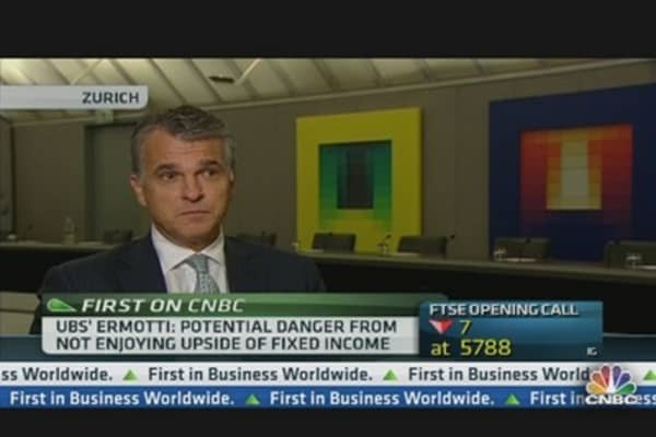UBS CEO: 10,000 People Will Leave Bank by 2015