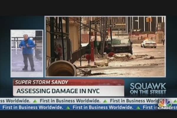 Assessing Damage in New York City