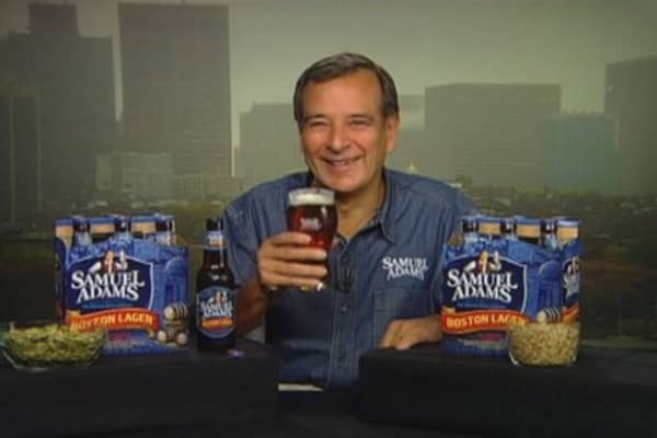 Sam Adams Founder: 'Time to Relax and Have a Beer'