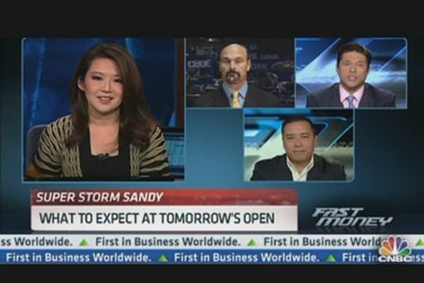 Business As Usual After Sandy?