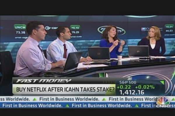 The Netflix Trade After Icahn's Big Buy