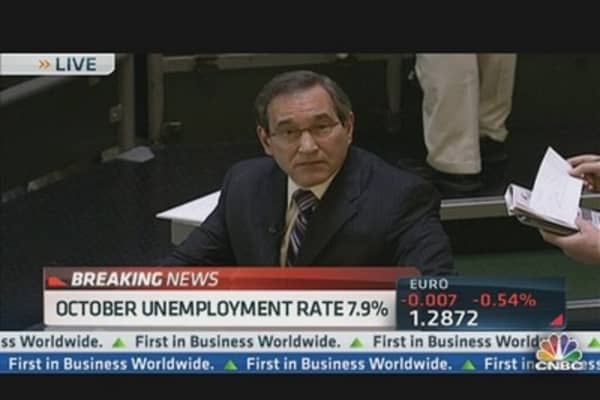Santelli & Liesman Fight Over Jobs Math
