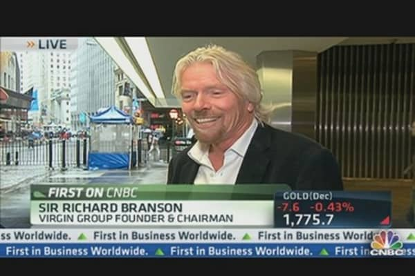 Sir Richard Branson One-on-One