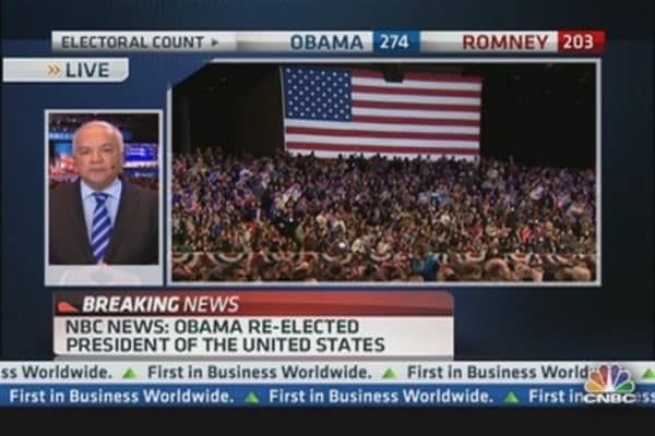 Reaction to President Obama's Re-election