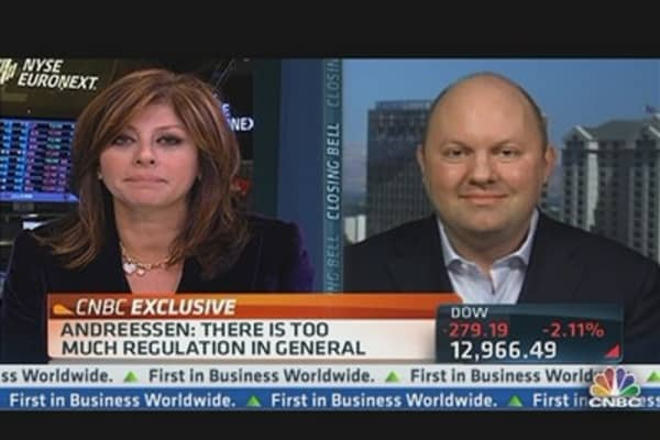 Andreessen on Pres. Obama's Win