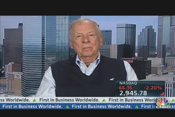 Pickens: Market Thought Romney Would Win