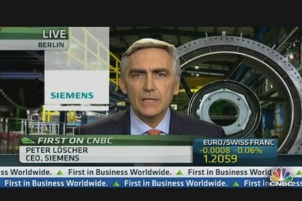 Siemens CEO: We are Targeting Productivity Not Jobs