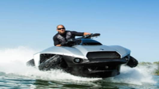 Be Like 007: The $40,000 Quadski