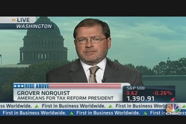 Norquist Pushes Back on Tax Increase