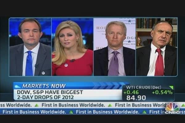 Fiscal Cliff Selloff?