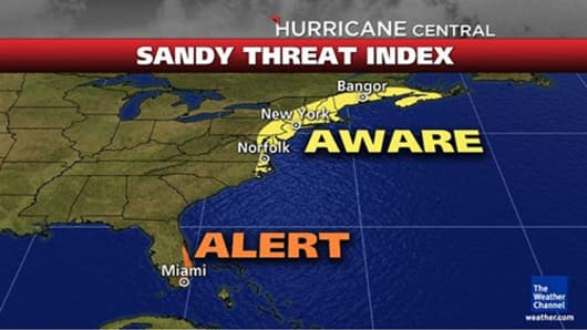 East Coast Braces For 'Frankenstorm' - A Natural Horror Show