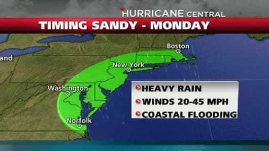'Frankenstorm' Threat Launches Mass Evacuations