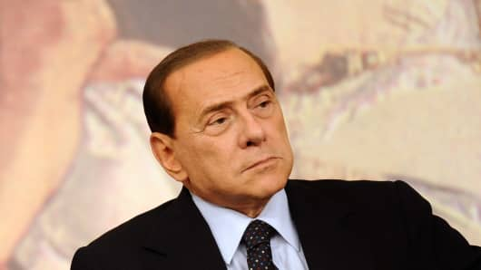 Silvio Berlusconi represents the country's darker side of Italy in a cont