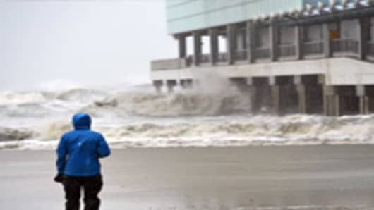 Hurricane Sandy a Double-Whammy for Households