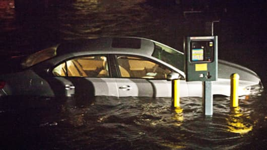 Sandy Helps Push Gasoline Prices Lower