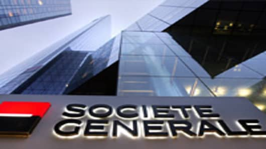 SocGen CEO Blames 'Stupid' Accounting for Profit Drop