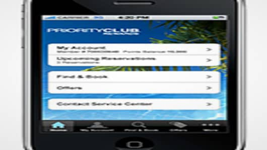 Priority Club Rewards iPhone App