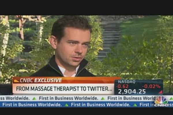 Jack Dorsey on Twitter, Square Success