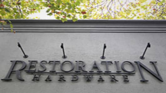 Restoration Hardware Shares Soar in Market Debut