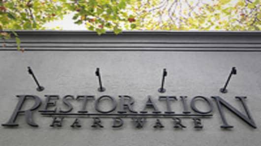 Restoration Hardware Shares Soar in Market Debut