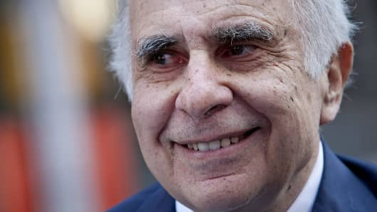 Carl Icahn, billionaire investor and chairman of Icahn Enterprises Holdings LP.