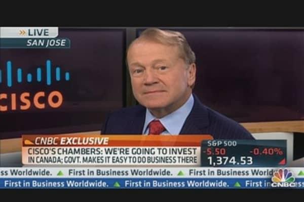 Cisco's Chambers: If No US Compromise, We Will Invest Overseas