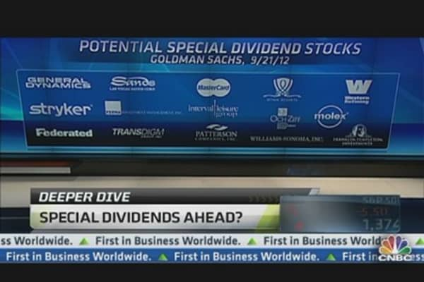 How to Play Special Dividend Stocks: Pros